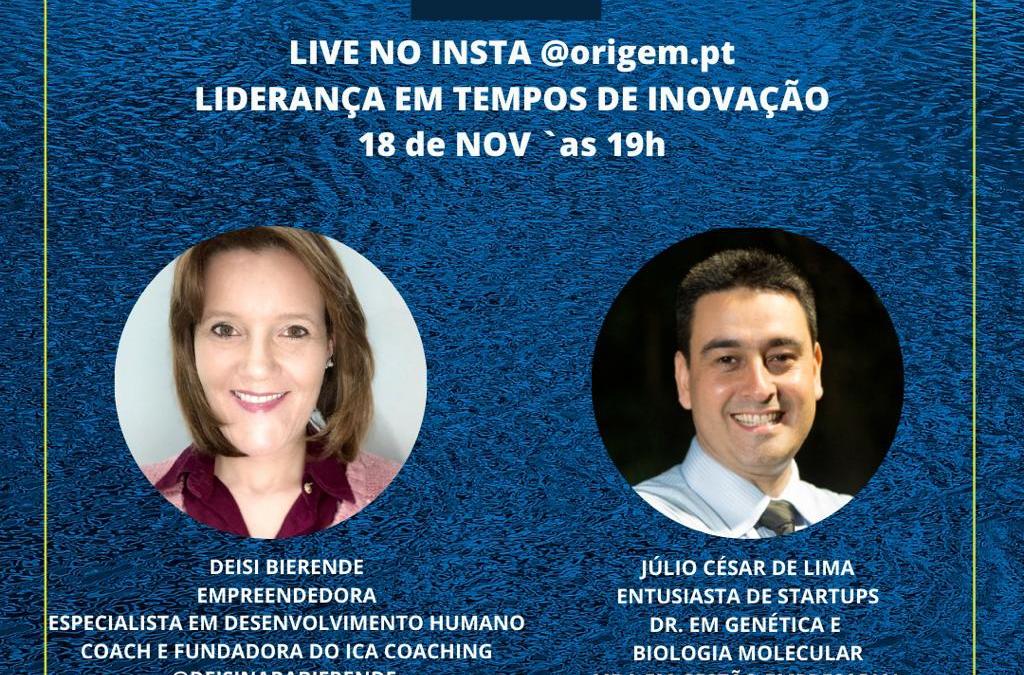 Live: Liderança em tempos de inovação